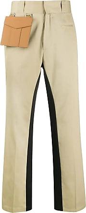 Palm Angels Beige cotton pocket trousers