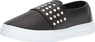 Qupid Womens REBA-167B Sneaker, Black, 8.5 M US