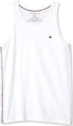 c5eab06bb608 Tommy Hilfiger Mens Modern Essentials Cotton Jersey Tank, White, Small