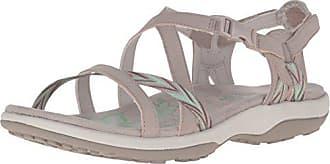 Skechers Womens Regga Slim Keep Close Gladiator Sandal,Taupe,5 M US