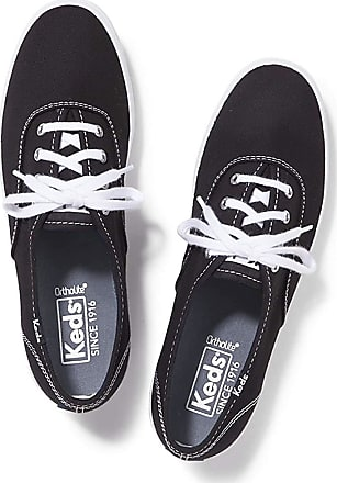 Keds Womens Champion Core Canvas Sneakers Black in Size UK 5.5 M