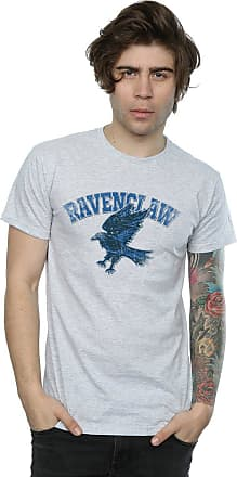 Harry Potter Mens Ravenclaw Sport Emblem T-Shirt Medium Sport Grey