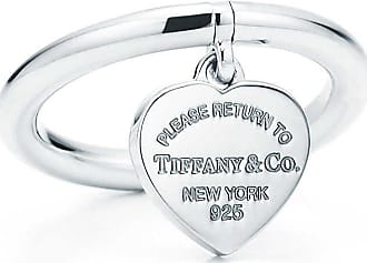 Tiffany & Co. Return to Tiffany Ring mit Herzanhänger in Sterlingsilber - Size 4 1/2