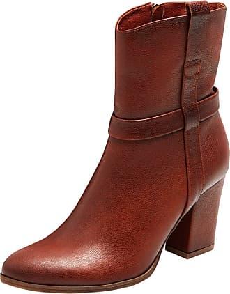 Damen Lederstiefel in Braun: Shoppe bis zu −73% | Stylight