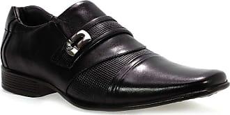 Rafarillo Sapato Social Masculino Kit 4 em 1 Preto Rafarillo 43