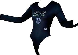 Versace Gianni Versace Bodysuit Versace Jeans Couture Logo Top W Medusa Logo e37c89c22