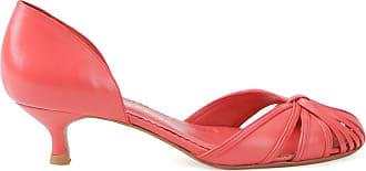 Sarah Chofakian Pumps con tacco basso - Di colore rosso