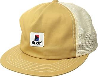 e9bb33f72fff6 Brixton Mens Stowell High Profile Mesh Snapback Hat Newsie Cap
