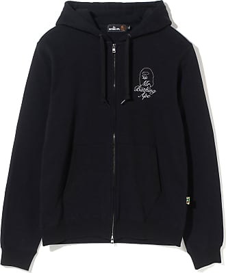 Aape By A Bathing Ape Logo zip hoodie
