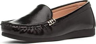 Lotus Margo Womens Black Slip On Loafer - Size 6 UK - Black