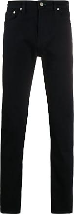 Paul Smith Calça jeans reta cintura média - Azul