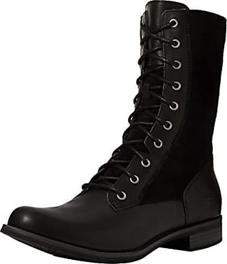 Magby Timberland Classiques Mid Lace Full FemmeNoirBlack P0142 with ZipBottes Grain EU Nnmyv0w8O