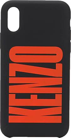 Kenzo Capa para iPhone com logo - Preto