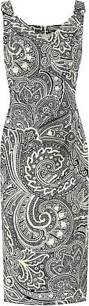 Max Mara Bedrucktes Kleid Verusca aus Baumwolle