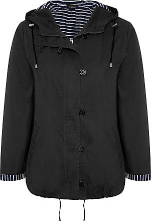 Yours Clothing Clothing Womens Plus Size Twill Parka Jacket Size 22-24 Black
