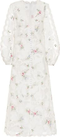 Zimmermann Zinnia silk-blend midi dress