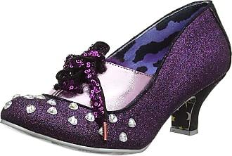 Irregular Choice Womens Haverhill Closed Toe Heels, Purple (Purple C), 6.5 (40 EU)