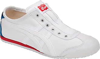 Onitsuka Tiger ASICS - Mens Mexico 66 Slip-on Shoes, 11.5 UK, White/White