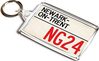 ILoveGifts KEYRING - Newark-on-Trent NG24 - UK Postcode Place Gift