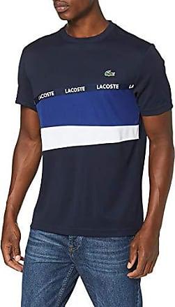a46635d825793 Lacoste Sport TH8427 T-Shirt Homme,Bleu (Marine/Ocean-Blanc F3x