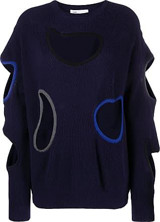 Toga Archives Suéter com recorte vazado - Azul