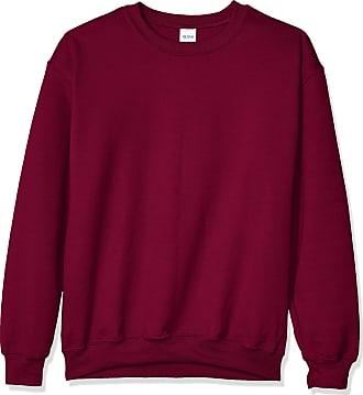 Gildan Heavy Blend Unisex Adult Crewneck Sweatshirt (2XL) (Maroon)