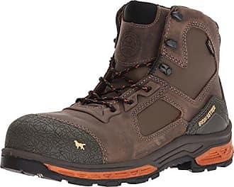 Irish Setter Work Mens Kasota 6 Waterproof Safety Toe Work Boot, Brown, 10.5 2E US