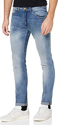Wrangler Mens BRYSON CROSS GRAIN Jeans, Blue (CROSS GRAIN), W36/L32