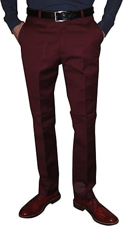 Relco Burgundy STA Press Trousers Sizes 30-42 Available (40)