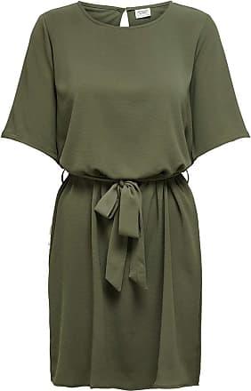 Jacqueline de Yong Womens JDYAMANDA 2/4 Belt Dress WVN NOOS, Kalamata, 16