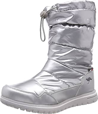 Kangaroos Womens K-Wowi Coll RTX Slouch Boots, Multicolour (Silver 9900), 6.5 UK