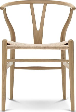 The Conran Shop CH24 Wishbone Chair Wooden Frame & Natural Paper Cord Seat