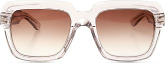Emmanuelle Khanh Sunglasses With Logo Womens White