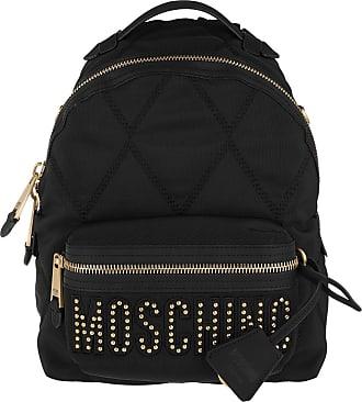 Moschino Backpacks - Logo Backpack Black Fantasy Print - black - Backpacks for ladies