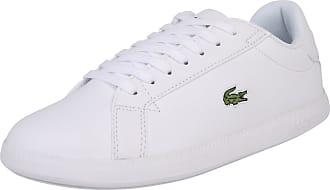 Lacoste Baskets basses Graduate blanc