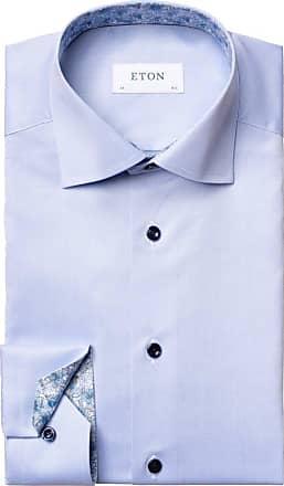 Eton Businesshemd, Slim Fit von Eton in Hellblau für Herren
