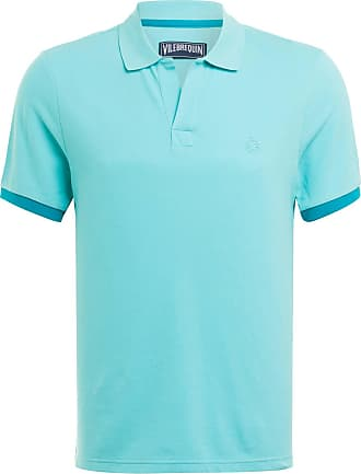 Vilebrequin Piqué-Poloshirt - TÜRKIS