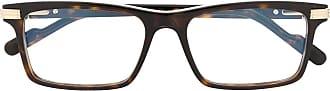 Cartier Armação de óculos retangular - Marrom