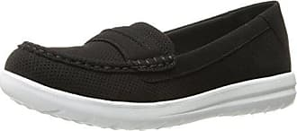 a9a85480ffb Clarks Womens Jocolin Maye I Slip-On Loafer Black Perforated Microfiber 7 M  US
