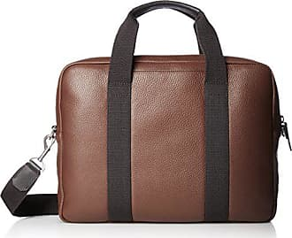 bd8ddb8a3e Ecco Mens Eday L Laptop Bag Briefcase, Mahogany, One Size