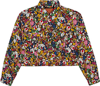 Levi's Levis vintage Mushroom kingdom trucker jacket MULTICOLOR S