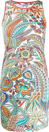 Blumarine Vestido com estampa tropical - Branco