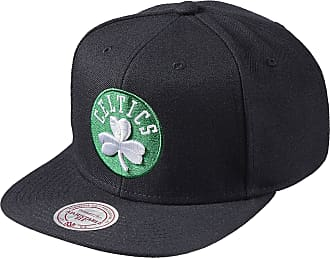 check out 00881 634ba Mitchell   Ness Men Caps Snapback Cap Wool Solid NBA Boston Celtics Black  Standard Size