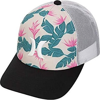 Hurley Womens Apparel Womens Hanoi Icon Trucker Hat, Crimson Tint, One Size Fits All