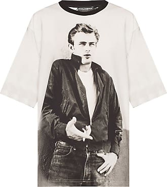 Dolce & Gabbana Printed T-shirt Mens Grey