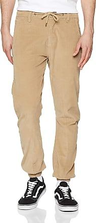 Urban Classics Mens Corduroy Jog Pants Trouser, Beige (Sand 00208), XXL