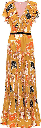 Johanna Ortiz Golden Blossom maxi dress