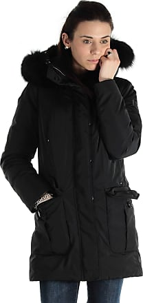 Peuterey Parka regina con cappuccio nero 38