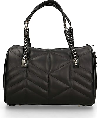 Chicca Borse Handbag in genuine leather made in Italy - 18x28x16 Cm