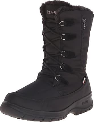 kamik Brooklyn, Womens Boots, Black, 4 UK